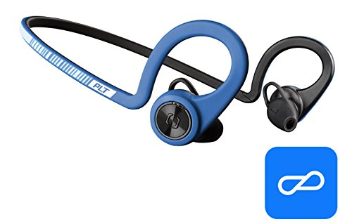 - Plantronics BackBeat FIT Training Edition Sport Earbuds, Waterproof Wireless Headphones, Access to Interactive Audio Coaching from The PEAR Personal Coach App, Power Blue
