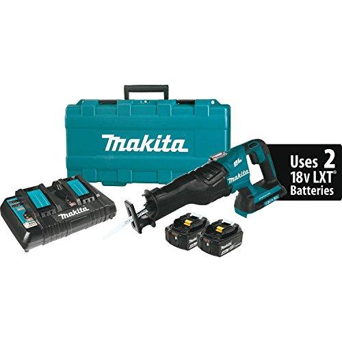 Makita 18v Recipro Saw (Makita XRJ06M 18V X2 LXT Lithium-Ion (36V) Brushless Cordless Recipro Saw Kit)