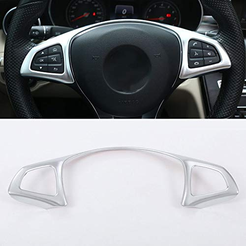 Steering Wheel Decoration Frame Cover Trim For Mercedes Benz E Class W213 2016-2017 GLC C-class W205 2015-2017