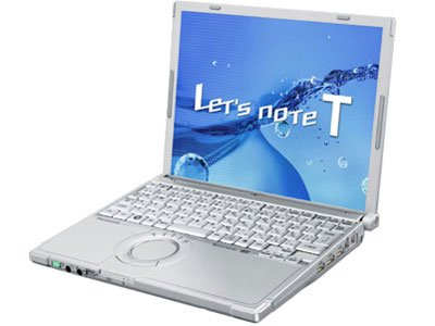 Lets note(レッツノート) T9 CF-T9JWFCDS Core2 Duo SU9600(1.6GHz) HDD:320GB 12.1インチ シルバー