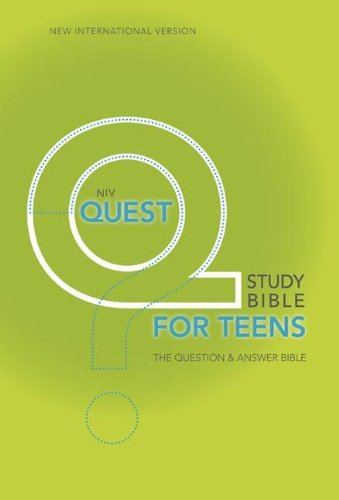 NIV, Quest Study Bible for Teens, Hardcover: The Question and Answer Bible