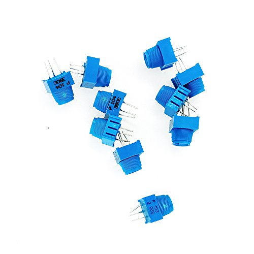 MCIGICM potentiometer assortment 1K 5K 100K 10K Ohm Breadboard Trim Potentiometer kit With Knob For Arduino