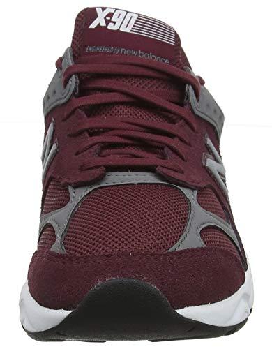 Baskets Homme 90 castlerock burgundy Bas Rouge New Balance X Ci q4x1wxvC