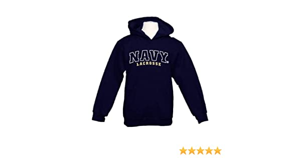 CollegeFanGear UIS Youth Navy Fleece Hoodie Baseball