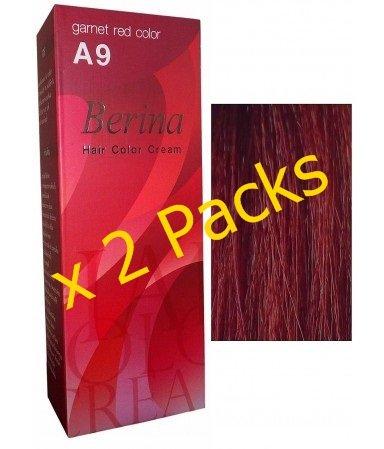 garnet red hair dye a9