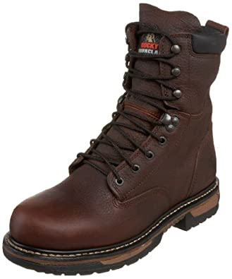 Amazon.com | Rocky Men's Iron Clad Eight Inch Work Boot ...