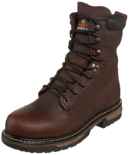 "UPC 085787224597, Rocky Men's Iron Clad 8"" Waterproof Non-Steel Boot,Bridle,13 W US"