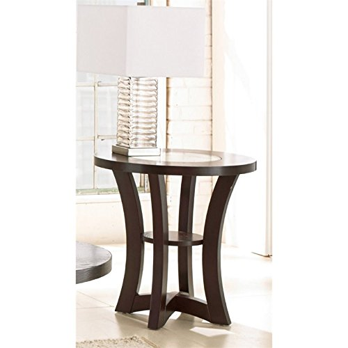 Ash Round End Table - 4
