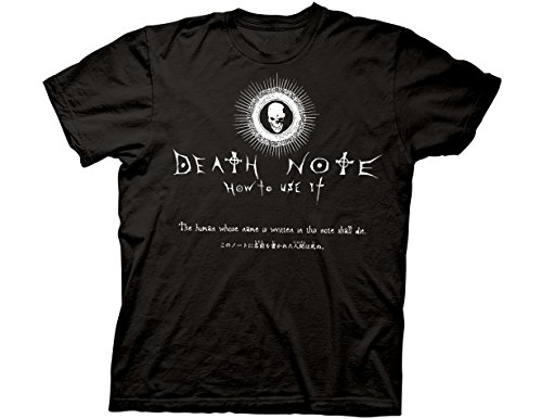 Ripple Junction Death Note How to Use It Adult T-Shirt