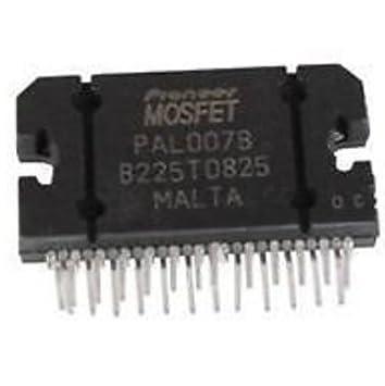 PAL007B Mosfet de conexión de Audio para disco duro interno para amplificador operacional amplificador Microchip