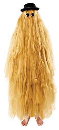 Hairy Relative Adult Costume Yellow