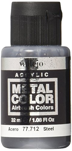 Vallejo Steel Metal Color 32ml Paint (Paint With The Colors Of The Wind)