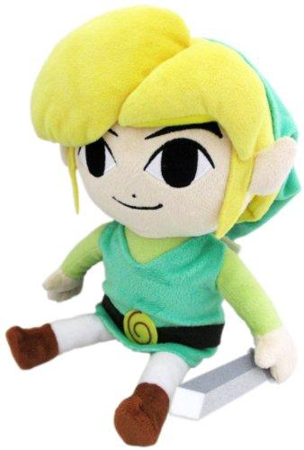 "Sanei The Legend of Zelda The Wind Waker 7"" HD Link Plush"