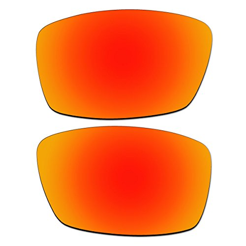 Cheap ACOMPATIBLE Replacement Fire Red Polarized Lenses for Oakley Nanowire 4.0 Sunglasses
