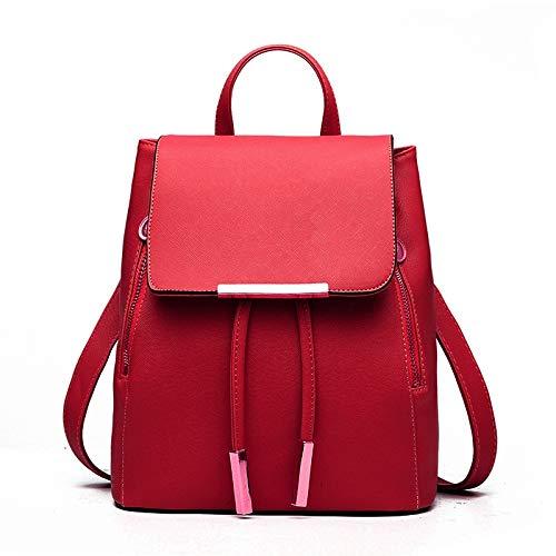 Amazon.com: Hot Leather Womens Backpack School Bags Mochila ...