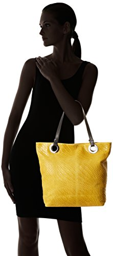 Borse Top 80060 Bag Chicca handle Yellow Women's qdCtx6