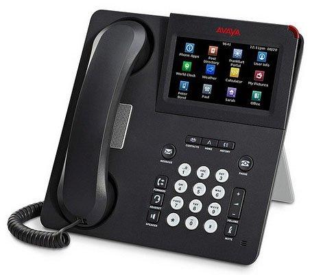 Avaya 9641G POE Corded IP Phone Without Power Adapter (Renewed)