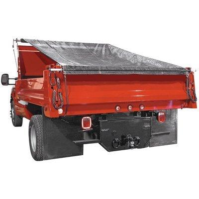 dump trailer mesh tarp - 5