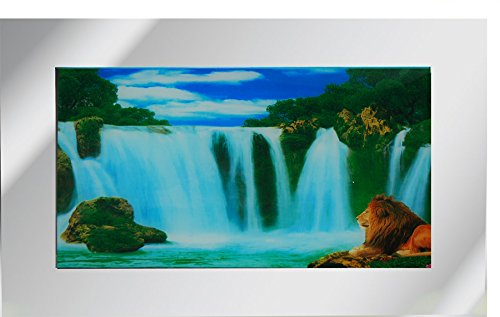 Nature Spirit Pictures Animated Wall Art Moving Picture Frame - Lion ...