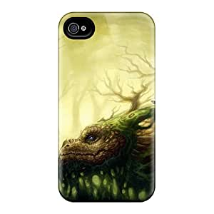 High-quality Durable Protection Case For Iphone 4/4s(dragon Music Dryad)