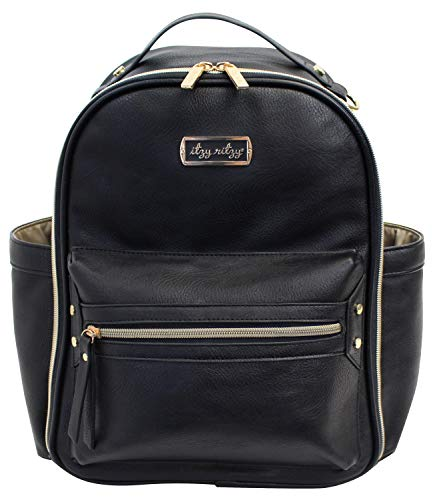 Itzy Ritzy Mini Diaper Bag Backpack with Changing
