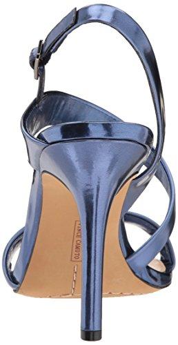 Vince Camuto Vrouwen Costina Hakken Sandaal Metaal Denim