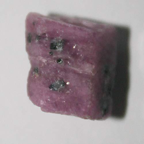 Tanzanian ruby crystal, red corundum crystal