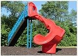 Sports Play Equipment 902-319 8 ft. Independent Sect Slide, Left Veer