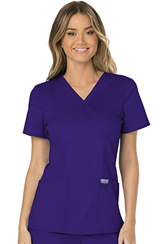 grape scrub top - 4