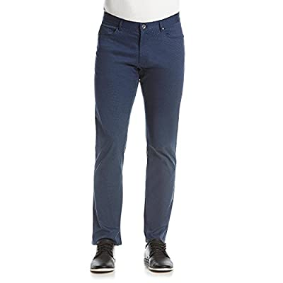 Calvin Klein Men's Stretch Cotton Twill Pants