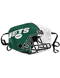 New York Football Retro and Distressed Helmet and Stripe Logo Unisex Reusable Anti-Dust Face Nose Mouth Cover Adjustable Mask