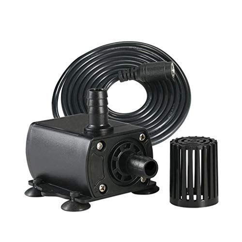 NewKelly Professional DC12V Brushless Water Pump Cold Water Circulation DC Mother Insert Fountain