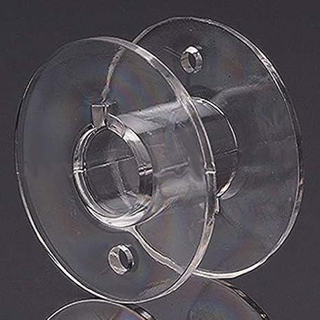 Nähmaschinenspule Kunststoff 20x11mm 6,3mm Lochung Unterfadenspule