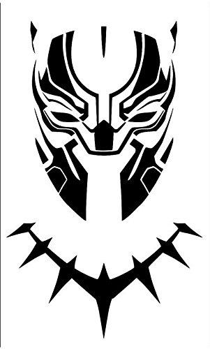 Cci Black Panther Mask Decal Vinyl Stick Buy Online In Belarus At Desertcart