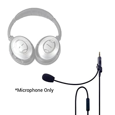 Headset Buddy ClearMic Plus2 for Bose QC15 - Noise Cancelling Boom Microphone for the QuietComfort 15 headphones (CM1502) by Long Tail Products