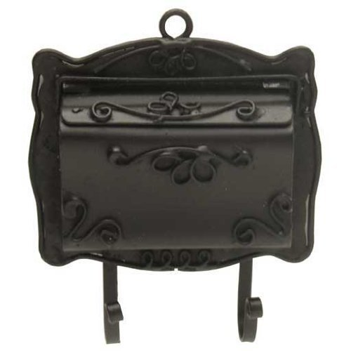 Melody Jane Dollhouse Black Victorian Mail Letter Box for sale  Delivered anywhere in USA
