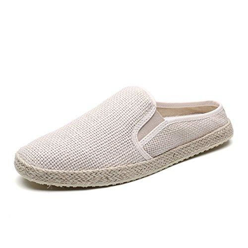 Bbdsj Casual chaussures Hommes décontractés Semi-pantoufles Personnalité Simple B bb6PL