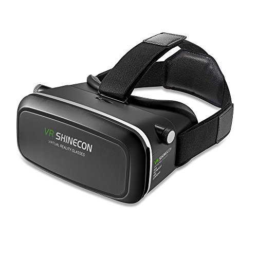 "VersionTech 360 degree Viewing Immersive Virtual Reality 3D Glasses VR headset VR Goggle for 3D Video Movie Game, Compatible with iPhone 7 Plus/ 7/ 6/ 6S Plus and Android Smartphone 4.7""-6.0"""
