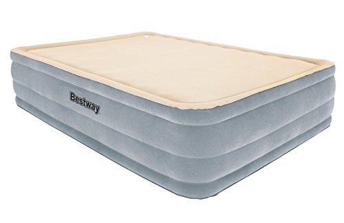Bestway 67487E Foam Top Comfort Raised Airbed Queen with ...