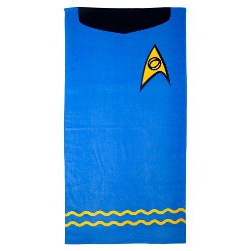 Star Trek Beach Towel (Spock (Blue))