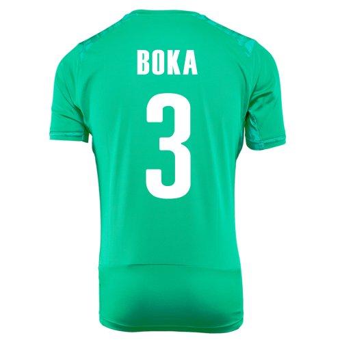 コミットメントきしむ米ドルPUMA BOKA #3 IVORY COAST AWAY JERSEY WORLD CUP 2014/サッカーユニフォーム コートジボワール アウェイ用 ワールドカップ2014 背番号3 ボカ