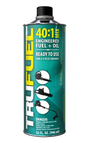 TruFuel 2-Cycle 40:1 Pre-Blended Fuel for Outdoor Equipment - 32 oz. (1 And 2 1 Store 2)