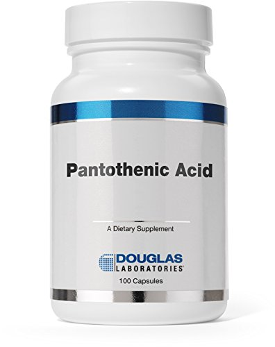 Douglas Laboratories - Pantothenic Acid (500 mg.) - Vitamin B-5 to support Energy Production and Nervous System* - 100 Capsules
