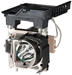 OEM Panasonic Projector Lamp for Part Number ET-LAC75 Original Bulb and Generic Housing by Corgi Lamps