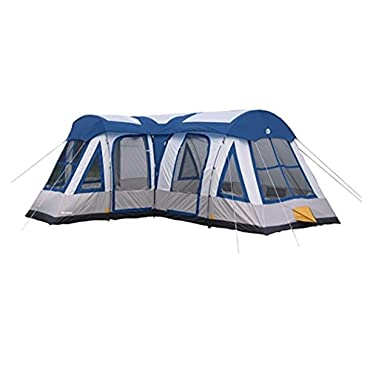Tahoe Gear Gateway 12-Person Deluxe Camping Tent (TGT-GATEWAY-10-B)