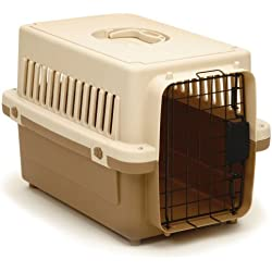 "Precision Pet 0100-X Cargo Kennel in Tan Size: X-Small (13"" x 14"" x 20"")"