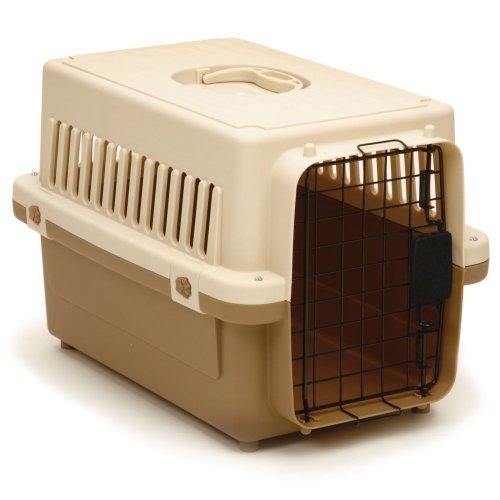 Precision Pet 0100-X Cargo Kennel in Tan Size: X-Small