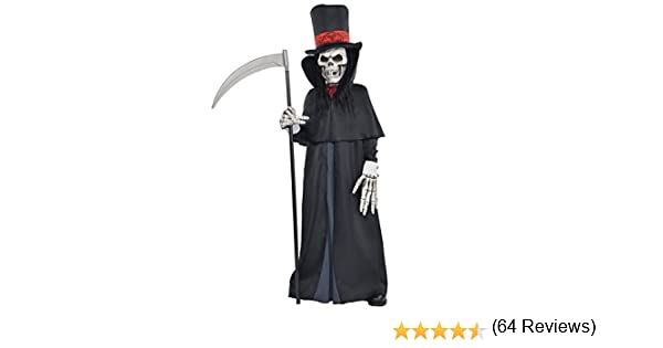 amscan - Disfraz infantil con diseño La Muerte, talla 14-16 años ...