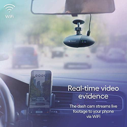 Nexar Light Full HD 1080p Dash Cam 32 GB SD Card Included WiFi Unlimited Cloud Storage