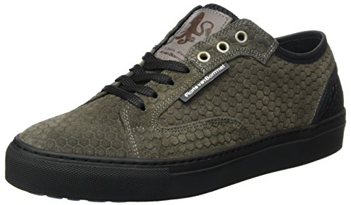 Floris van van Sneaker 14319 Bommel 01 Floris Grigio Grigio Uomo RvRw4qxr